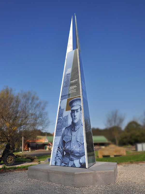Captain Albert Jacka Memorial, Winchelsea
