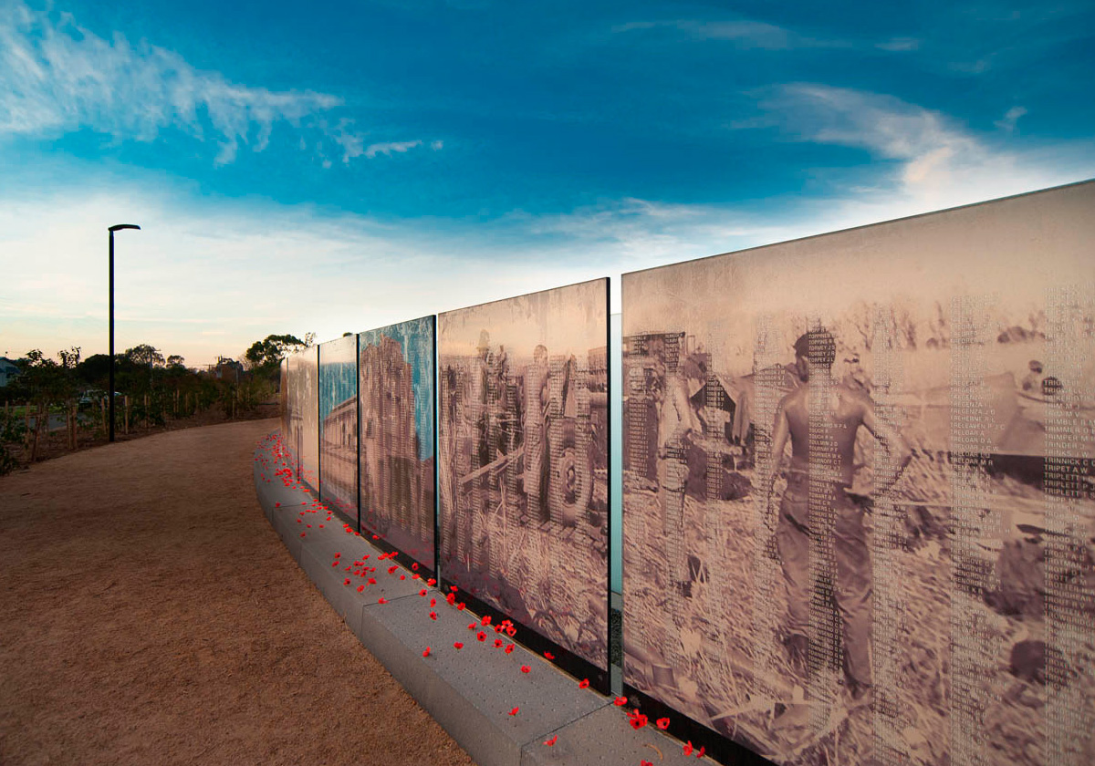 The Vietnam Veterans Commemorative Walk
